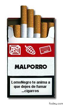 Deja de fumar, porfavor!
