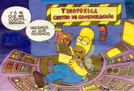La frase de Homer