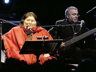 Mercedes Sosa (concierto en Telde)