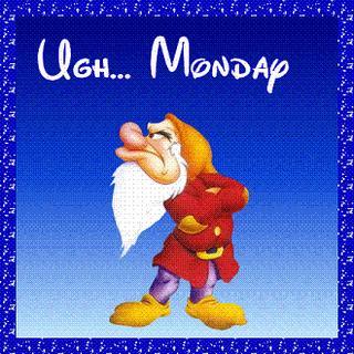 Odio los lunes!!!