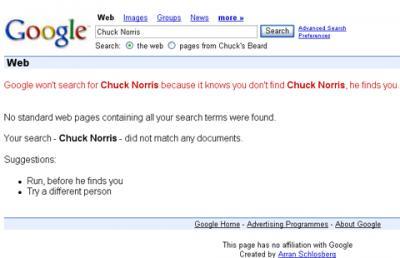 Sabías que Chuck Norris...