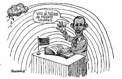 Bienvenido Mr. Obama!