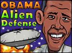 El juego del viernes - Obama Alien Defense
