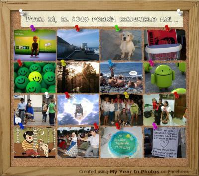 Resumen del 2009 en 16 fotos del facebook