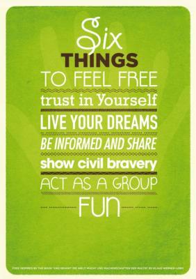 6 cosas para sentirse libre