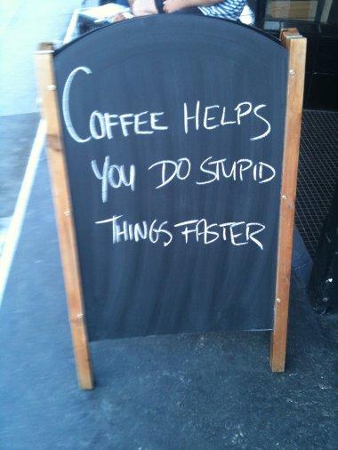 Me gusta el café